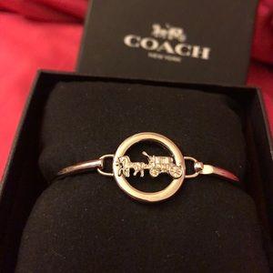 Authentic Coach Logo Bracelet